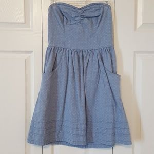Mossimo strapless cotton dress